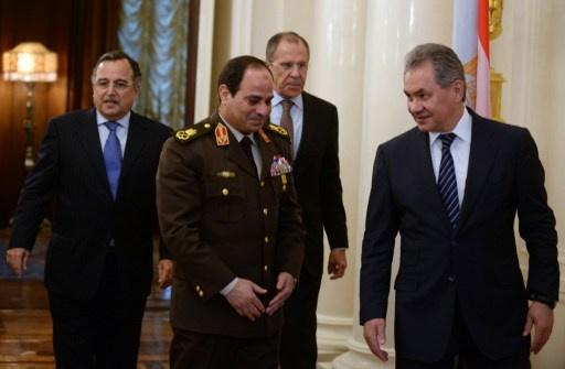 روسيا ومصر تؤكدان رفضهما للتدخل الخارجي في الشأن السوري