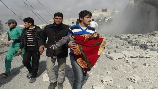 مراسلنا: الجيش يفرض سيطرته على قرى يبرود و460 مسلحا يسلمون أنفسهم بحمص