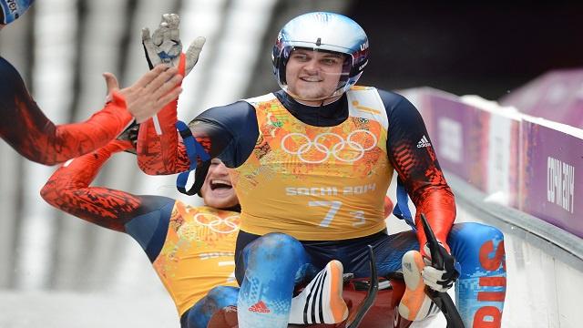 روسيا تتوج بفضية الزحافات الثلجية (تتابع) في أولمبياد سوتشي