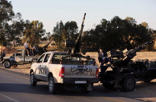 مقتل 5 اشخاص في اشتباكات بمدينة الزاوية بليبيا