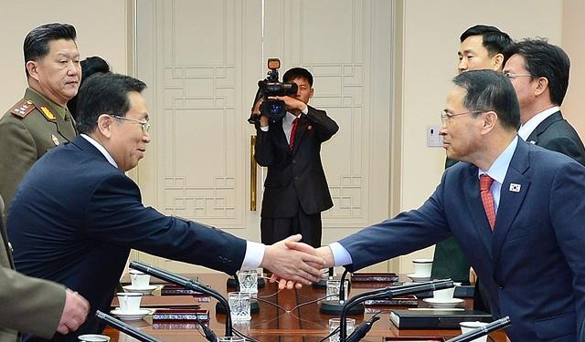 الكوريتان تتفقان على لم شمل الاسر المشتتة