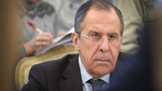 لافروف: موسكو قلقة من استمرار محاولات إحباط الحوار السياسي السوري