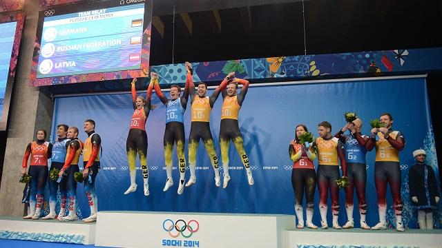 بالصور .. أبطال اليوم السادس لأولمبياد سوتشي 2014