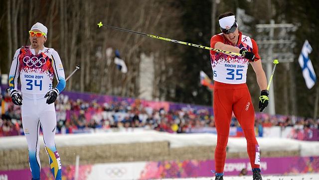 السويسري كولونيا يحرز الذهبية الشخصية الثانية في أولمبياد سوتشي