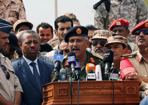 رئيس الاركان الليبي: عصر الانقلابات قد انتهى