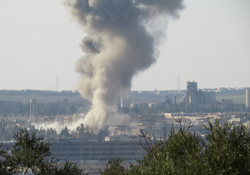 المعارضة السورية تعلن تفجير انفاق تحت فندق الكارلتون بحلب.. والجيش يؤكد التصدي للهجوم