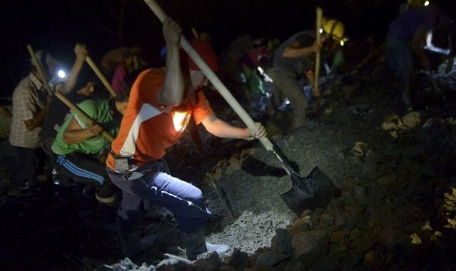 كولومبيا: مقتل خمسة عمال في انهيار أرضي