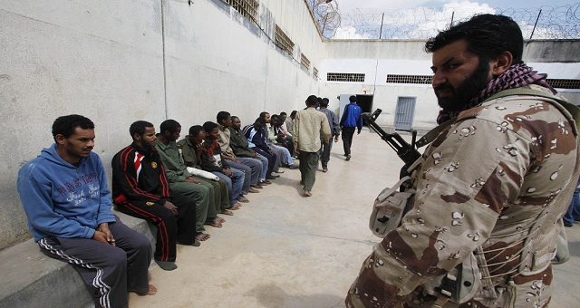 هروب 92 سجينا في مدينة زليتن الليبية