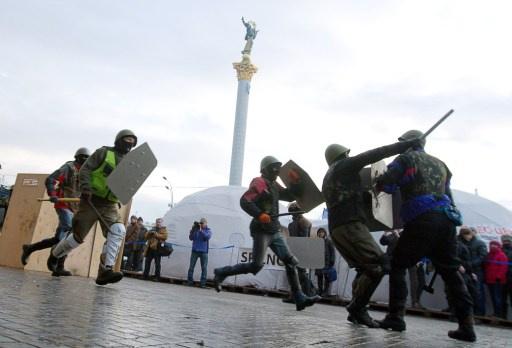 واشنطن ترحب بالافراج عن المعتقلين في اوكرانيا