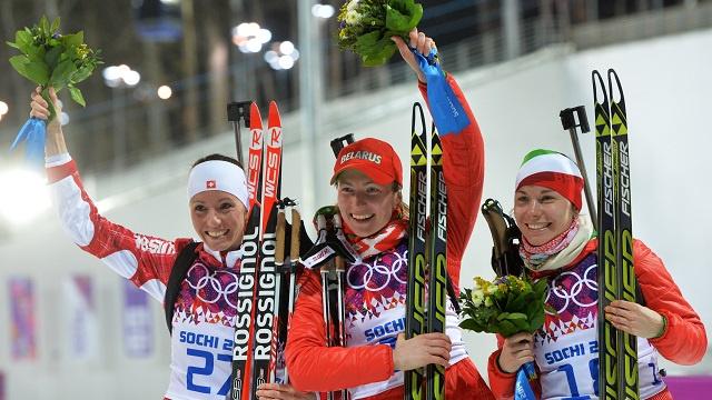 بالصور .. أبطال اليوم السابع في أولمبياد سوتشي 2014