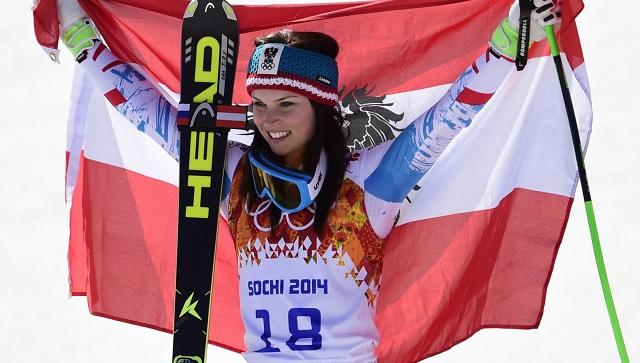 النمسا تحصد ذهبية وبرونزية سباق التعرج العملاق في سوتشي