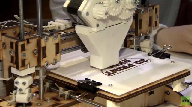 موسكو.. طابعة ثلاثية الأبعاد تستخدم الشوكولا (فيديو)