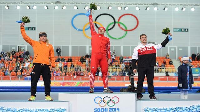 البولندي زبينغييف يمنح بلاده الذهبية الثالثة في سوتشي