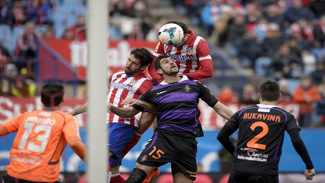 أتلتيكو مدريد يتصدر الدوري الإسباني بثلاثية بمرمى بلد الوليد