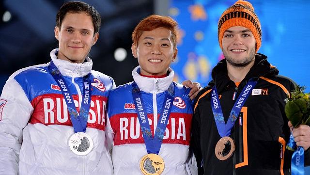 بالصور .. أبطال اليوم الثامن في أولمبياد سوتشي 2014