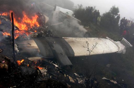 تحطم طائرة نيبالية على متنها 18 شخصا بينهم طفل واجنبي