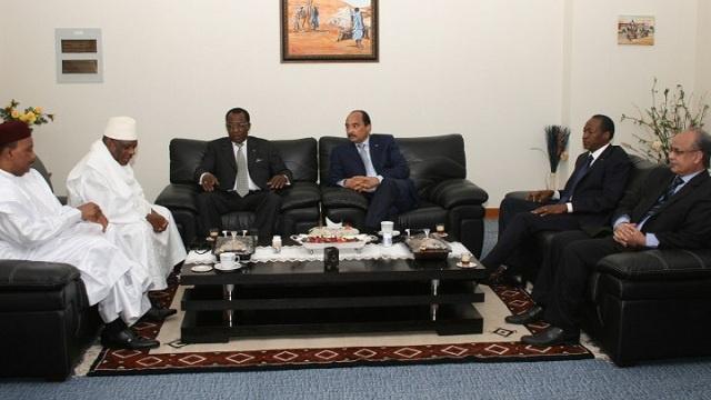 موريتانيا تدعو دول الساحل لتنسيق سبل مكافحة الإرهاب