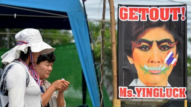المعارضة تحاصر مقر الحكومة في تايلاند
