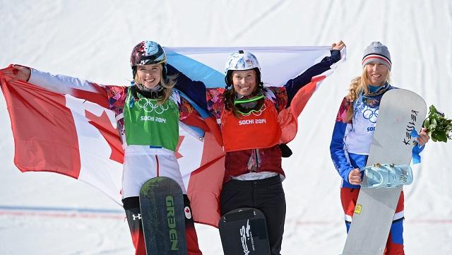 بالصور .. أبطال اليوم التاسع في أولمبياد سوتشي 2014