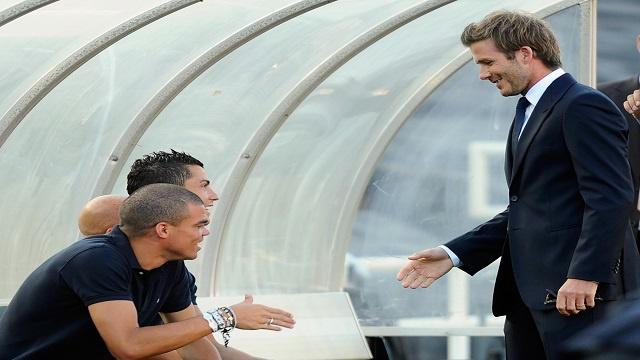 بيكهام يخطط لضم رونالدو الى نادي ميامي!