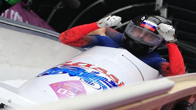 روسيا تحصد ذهبية الزلاجات الجماعية في أولمبياد سوتشي