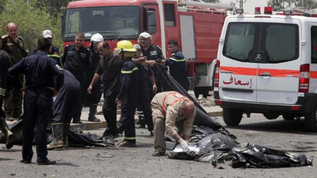 مقتل 16 شخصا على الأقل وإصابة العشرات في تفجيرات ببغداد