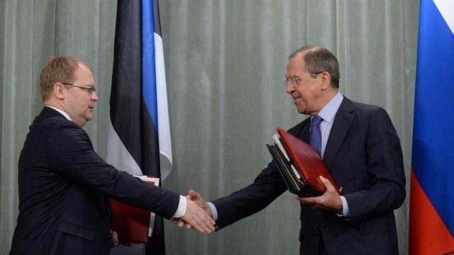 روسيا وإستونيا توقعان اتفاقية جديدة لترسيم الحدود