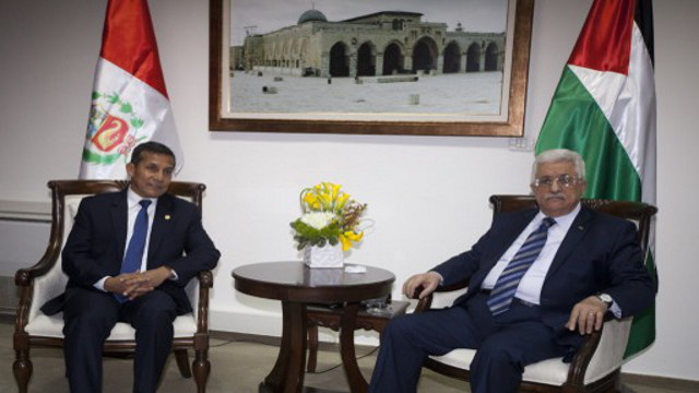عباس: حل القضية الفلسطينية هو مفتاح السلام في الشرق الأوسط