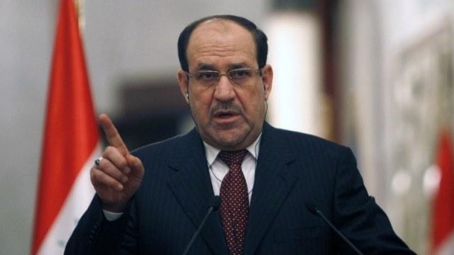 المالكي يدافع عن سياسته في مجال مكافحة الإرهاب