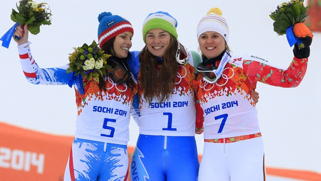 بالصور .. أبطال اليوم الحادي عشر في أولمبياد سوتشي 2014