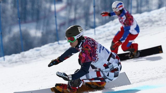فيك وايلد يهدي روسيا ذهبية التعرج العملاق المتوازي في أولمبياد سوتشي