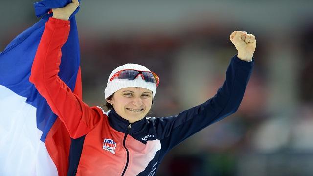 التشيكية سابليكوفا تفوز بذهبية التزحلق السريع (5000م)