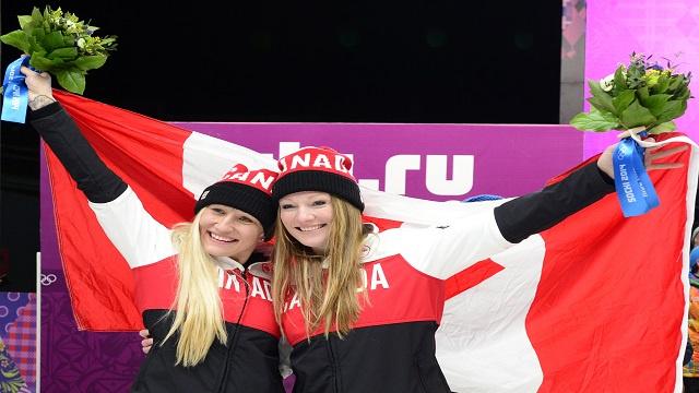 كندا تتوج بذهبية ثنائي الـ(بوبسلي)