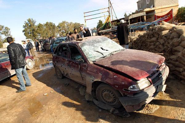 إصابة قاض بجروح بالغة جراء استهدافه بعبوة ناسفة في بنغازي
