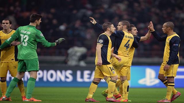 دوري الأبطال.. أتلتيكو مدريد يعود من ميلان بفوز ثمين