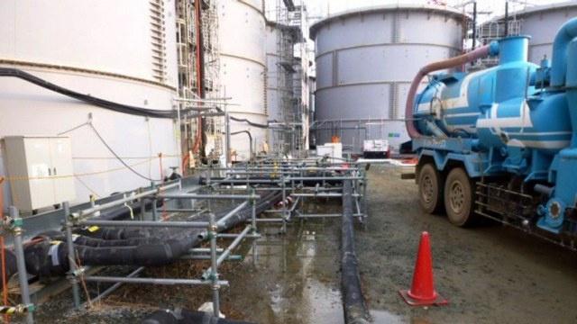 تسرب 100 طن من المياه المشعة في محطة