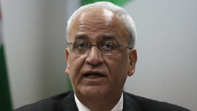 عريقات يدعو إسرائيل إلى الإلتزام باتفاقية أوسلو في ما يخص الإفراج عن الدفعة الرابعة من الأسرى