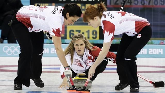 كندا بطلة لأولمبياد سوتشي 2014 بالكيرلينغ للسيدات