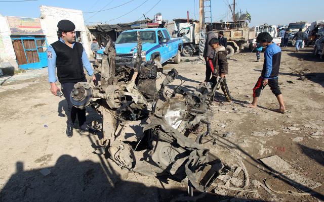 مقتل 20 شخصا في هجوم على بلدة جنوب بغداد