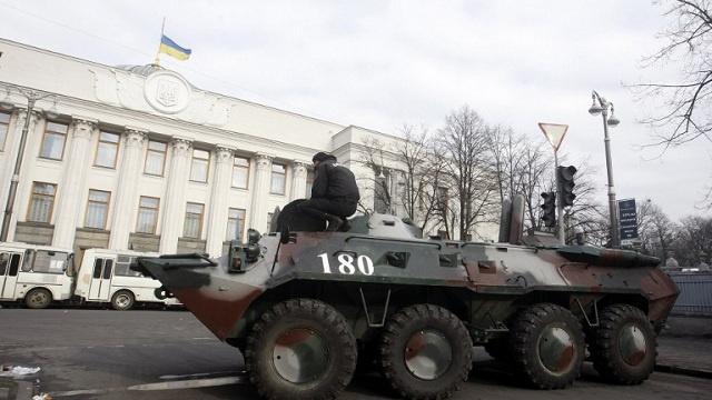 البرلمان الأوكراني ينظر اليوم في موضوع الإصلاح الدستوري