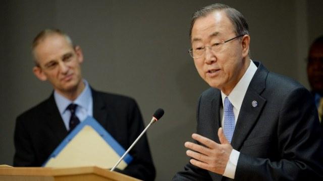 بان كي مون يشير إلى ضرورة مواصلة مفاوضات جنيف رغم خيبة أمله من نتائجها