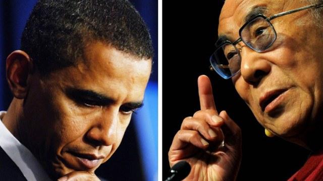 الخارجية الصينية تدعو واشنطن إلى إلغاء لقاء أوباما مع دالاي لاما