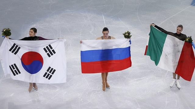 بالصور .. أبطال اليوم الثالث عشر في أولمبياد سوتشي 2014