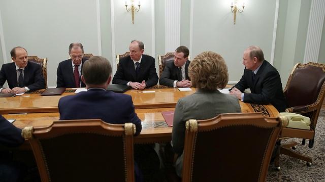 بوتين يترأس اجتماعا لمجلس الأمن الروسي لبحث الأوضاع في أوكرانيا