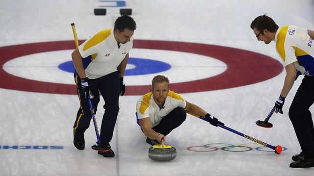 السويد تنتزع برونزية سوتشي لكيرلينغ الرجال بصعوبة من الصين
