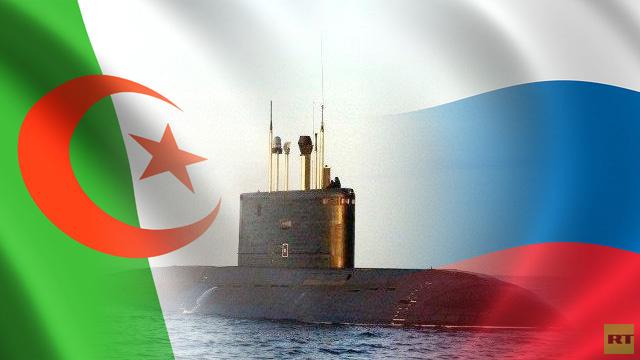 روسيا ستزود الجزائر بغواصتين من طراز