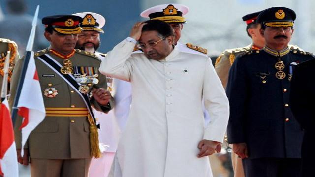 القضاء الباكستاني يرفض محاكمة مشرف أمام القضاء العسكري