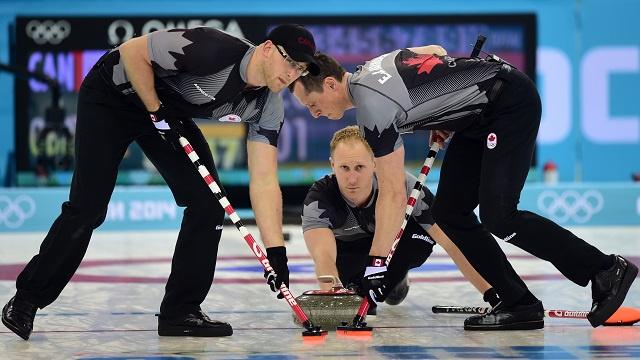 كندا سيدة الكيرلينغ في أولمبياد سوتشي 2014