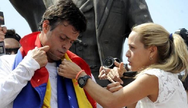 زعيم المحتجين في فنزويلا من السجن يدعو أنصاره لمواصلة المقاومة