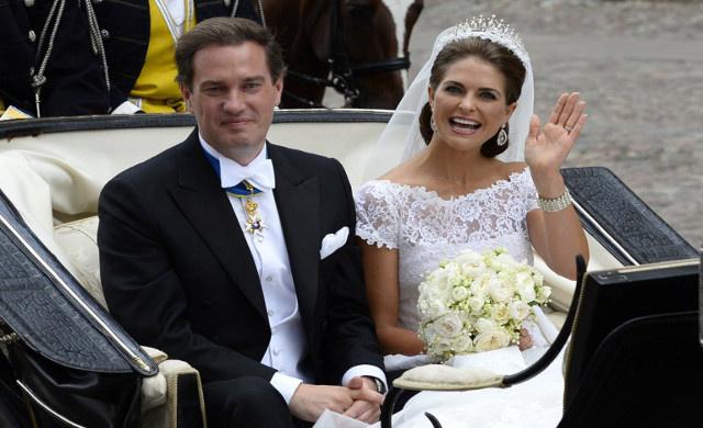 أميرة السويد مادلين ترزق بابنة